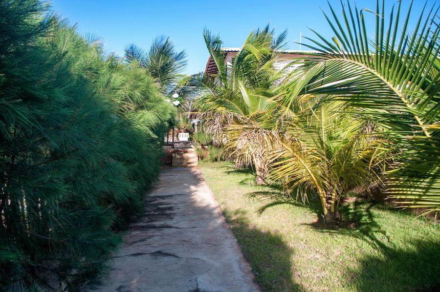 Casa-Branca-chemin-accès-prive-plage1- Location Maison Bresil