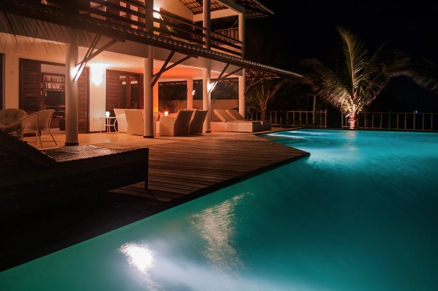 Casa-Branca-terrasse-nuit1- Location Maison Bresil