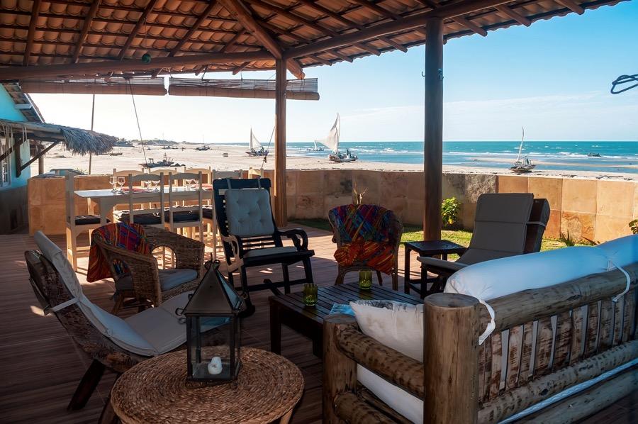 Casa Esmeralda Terrasse front de mer